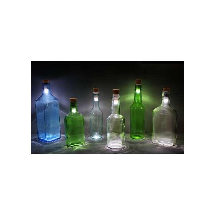 BOTTLE LIGHT, LED Recyclez vos bouteilles en lampes décoratives