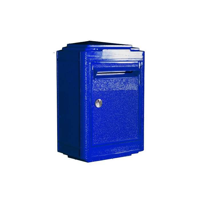 Boites aux lettres bleue la poste la boite jaune rose bunker - Boites aux lettres la poste ...