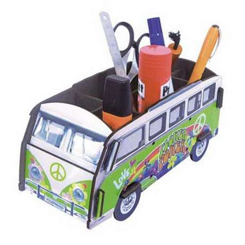 POT A CRAYONS Hippie Bus