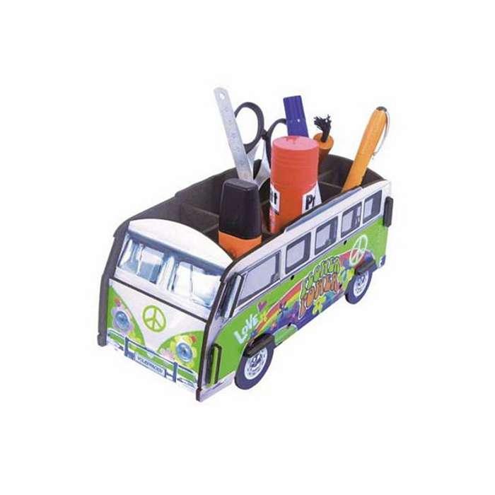 pot à crayon volkswagen hippie