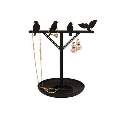 Présentoir à bijoux, oiseaux