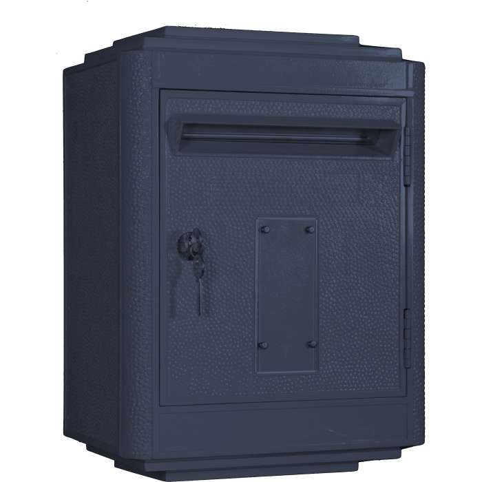 boite aux lettres la poste jaune large rose bunker. Black Bedroom Furniture Sets. Home Design Ideas