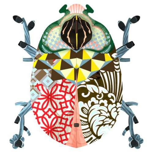 Boite vide-poche, scarabée, MIHO