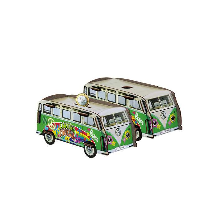 Tirelire Bus volkswagen hippie