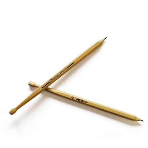 Crayons Papier Baguettes Batterie Fan de Musique