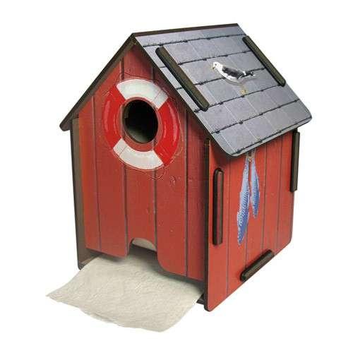Distributeur Papier Toilette, Cabane rouge - WERKHAUS