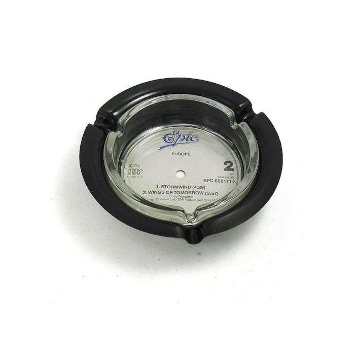 Cendrier disque vinyle recyclé