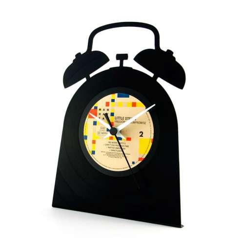 Horloge Disque Vinyle Recyclé, à poser- vinyluse