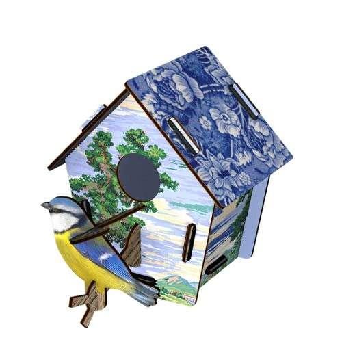 CABANE A OISEAUX (PM) décoration murale eco-friendly