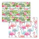 Set de Table motif Flamants Rose - Tropical
