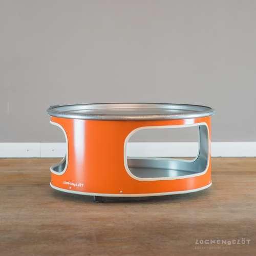 """Table basse """"Little Bob"""" faite à partir d'un bidon recyclé"""