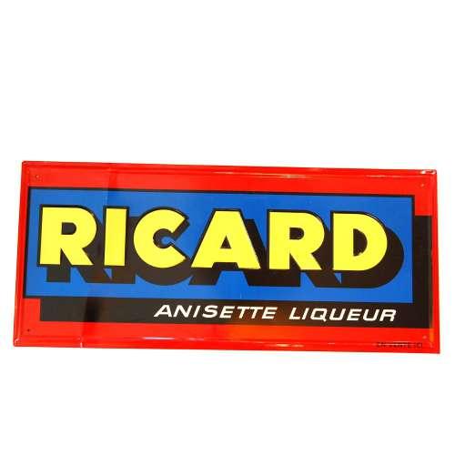 Tôle Publicitaire Bistrot Vintage, RICARD