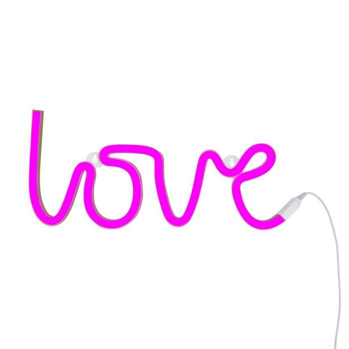 Lampe Néon Love, LED Rose - LITTLE LOVELY Comp