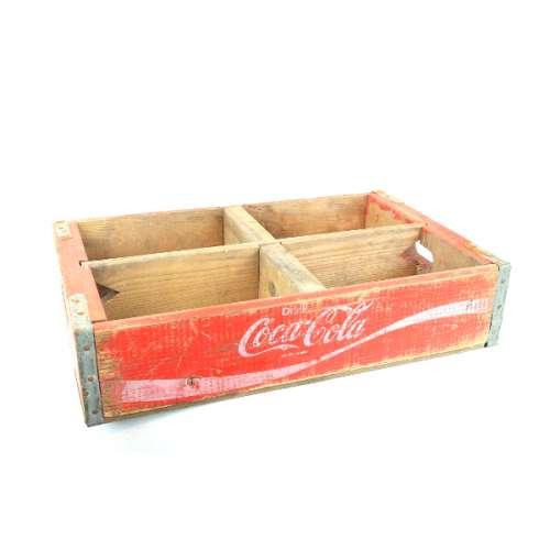 Caisse Coca-Cola en bois, Ancienne