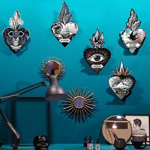 Ex-Voto, Coeur décoratif, Message - MIHO