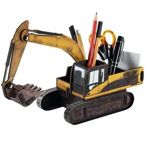 Pot à Crayon Pelleteuse, Engin de chantier - Werkhaus