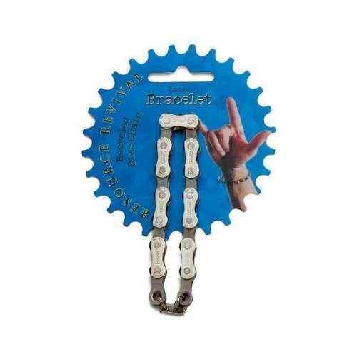Bracelet en Chaîne de Vélo recyclée, Upcycling