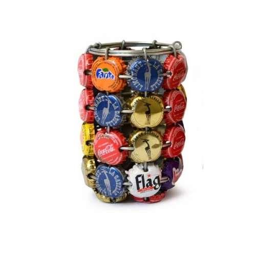 Pot à Crayons en Capsules Recyclées