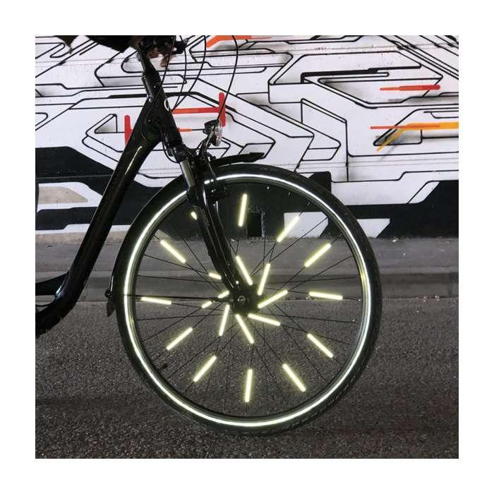 Réflecteurs Pour Rayons De Vélo Roule En Sécurité Rose Bunker