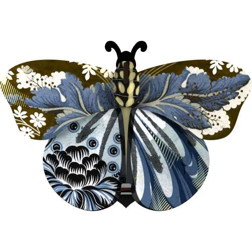 Boite vide-poche et miroir, Papillon, Abigaille - MIHO