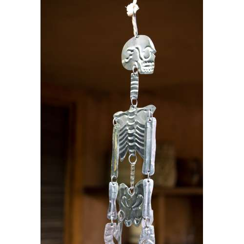 squelette ex-Voto Mexicain , Fabriqué à la main