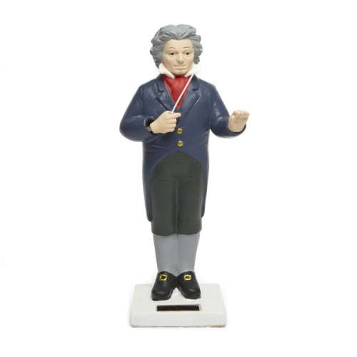 Figurine Beethoven, orchestre, solaire - KIKKERLAND