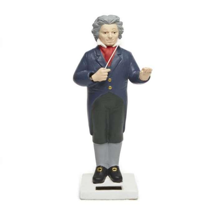 Figurine Beethoven solaire - KIKKERLAND