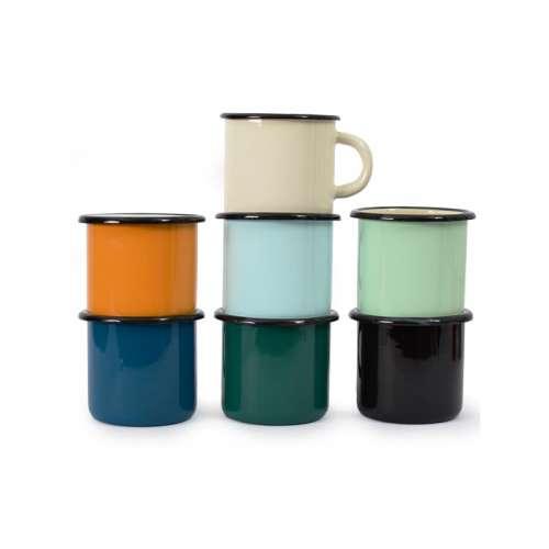 Mug Emaille / Tasse Emaillée -Métal couleurs