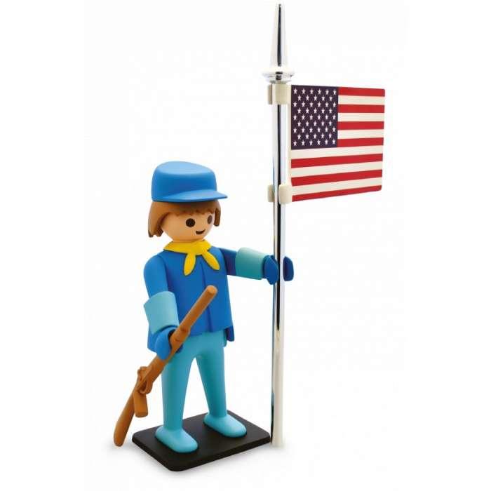 Statuette de Collection Playmobil, Le Soldat US