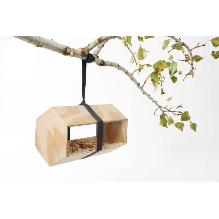 Mangeoire, maison à oiseaux modulaire et design