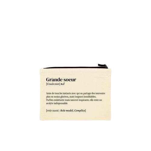 Trousse Grande-sœur, Coton Bio, Définition