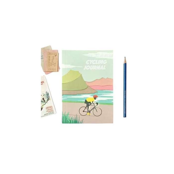 Journal de Voyage, vélo, Carnet de Note, 100% Recyclé