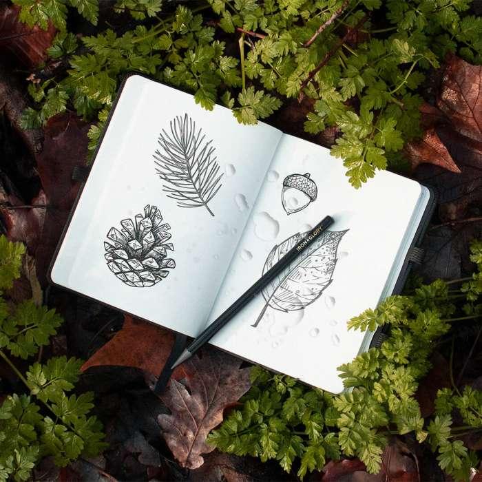Carnet de note, étanche, notebook de voyage