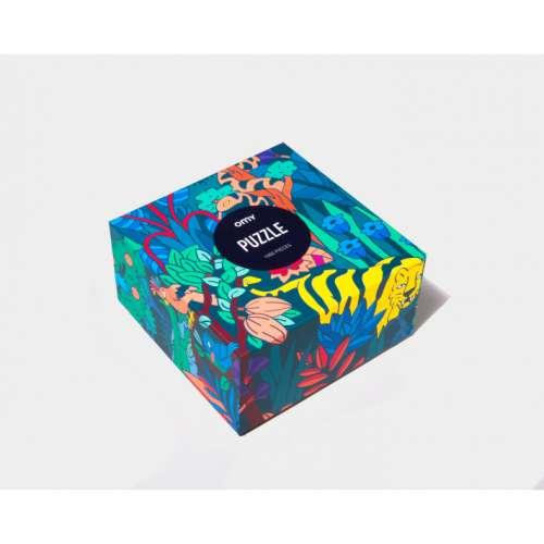Puzzle déco tropical, 1000pce, fun et coloré, OMY