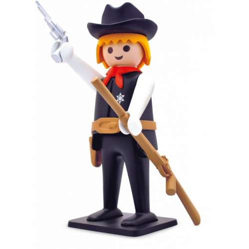 Statuette de Collection Playmobil, Le Sherif