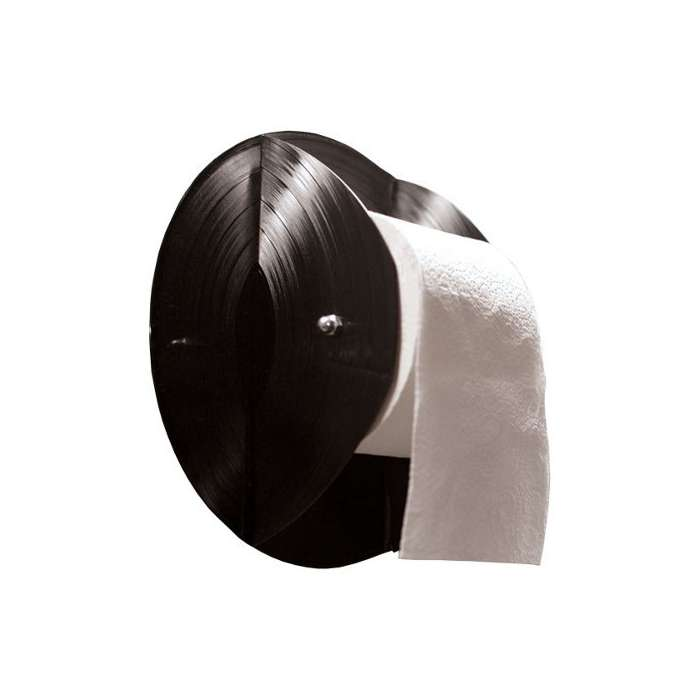 d rouleur papier wc original vinyle recycl rose bunker. Black Bedroom Furniture Sets. Home Design Ideas